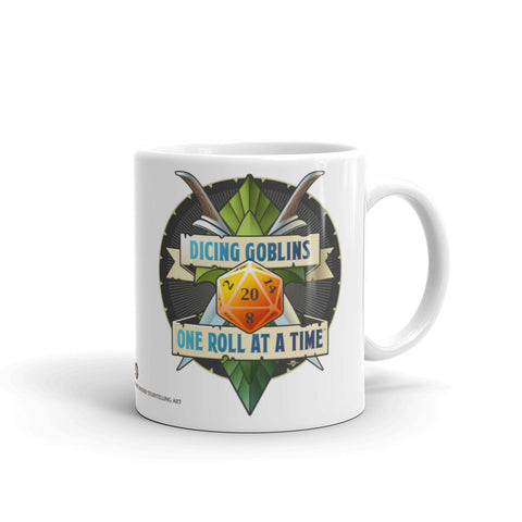 Dicing Goblins Badge Mug