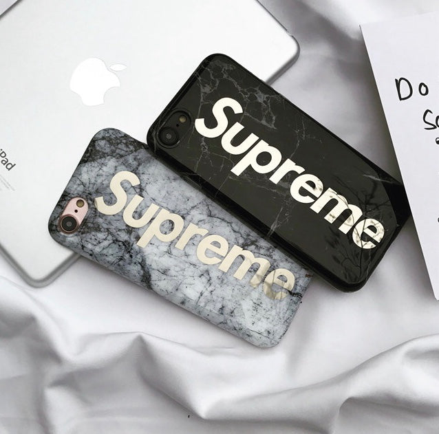 best sneakers 8c30b c1c37 Supreme Marble iPhone Case