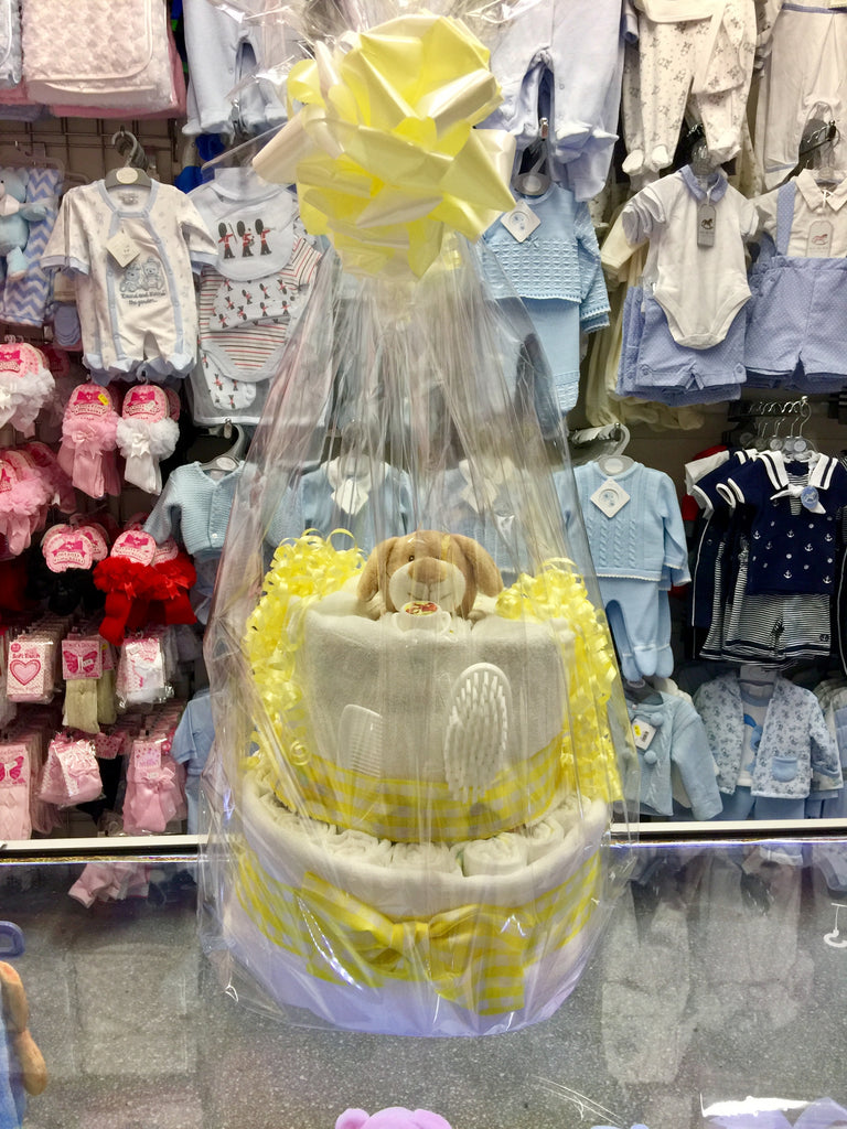 Nappy Cakes, the ideal gift for a baby shower.