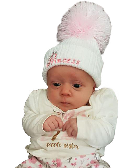 Pom Pom Hats for your Little Prince or Princess