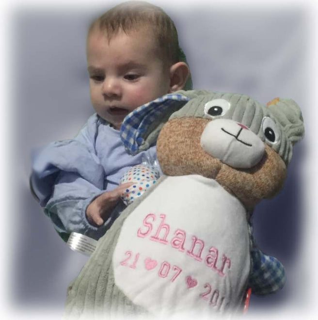 Personalised Teddy  Bears Plush Soft Toys for Baby and Children