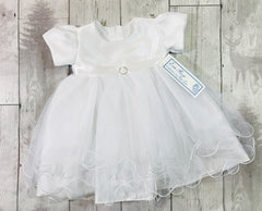 baby girl white christening dress outfit for sale