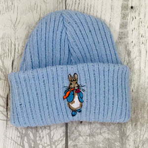 baby boy peter rabbit hat cap beanie