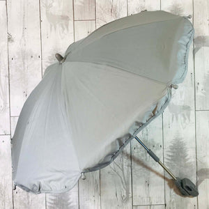 silver grey baby parasol umbrella sun shade