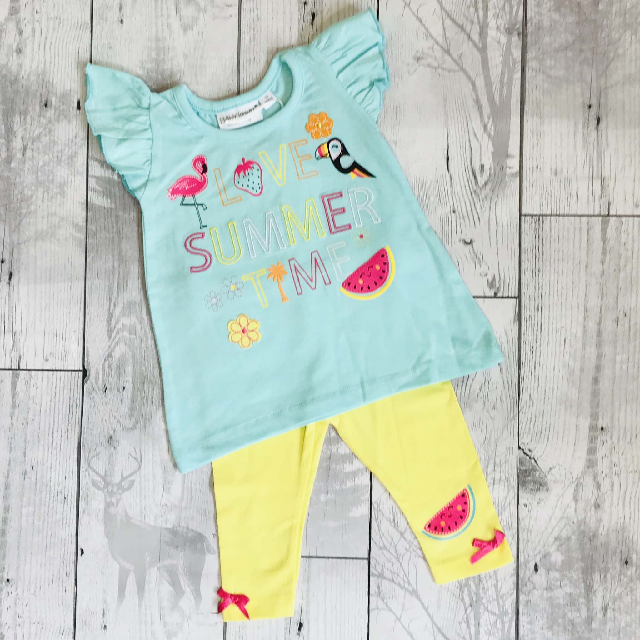 baby girls t shirt and leggings outfit
