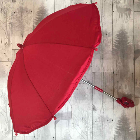 Universal Baby Pram /  Pushchair Parasol / Sun Umbrella  - Red