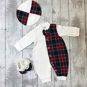 personalised boys christmas outfit