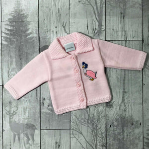 Baby Girls Cardigan - Jemima Puddleduck