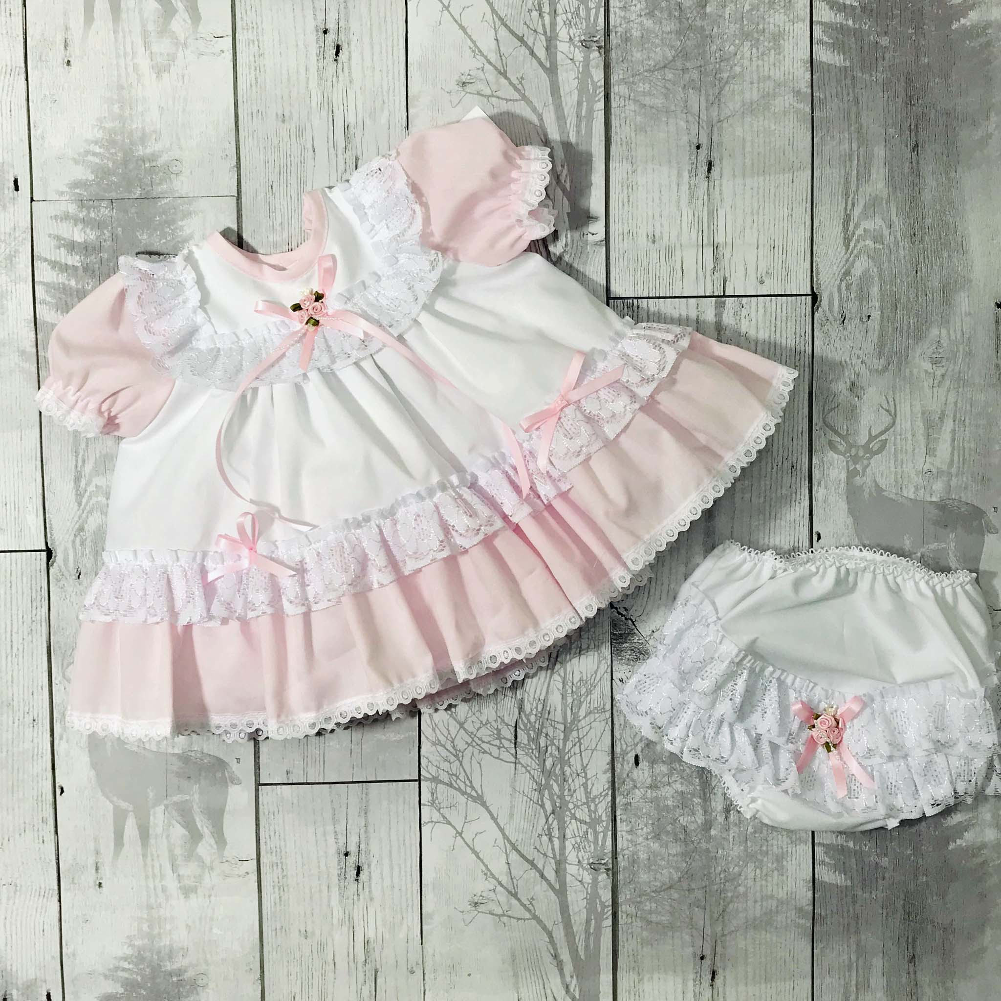 baby summer dress frilly