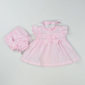 baby girl outfit, dress, jacket and beret
