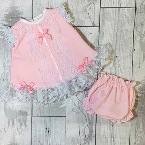 baby girl summer dress pink