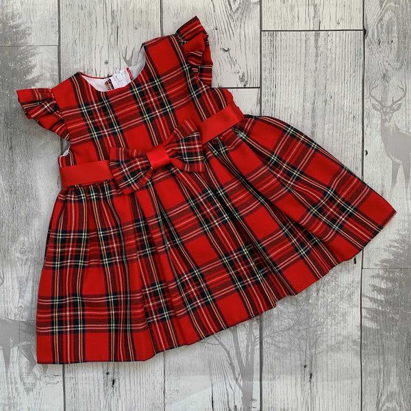 baby girl tartan dress