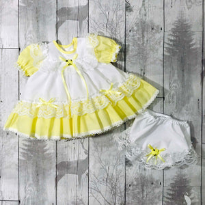 baby girl easter dress yellow