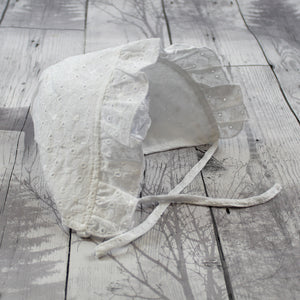 baby girls bonnet sun hat