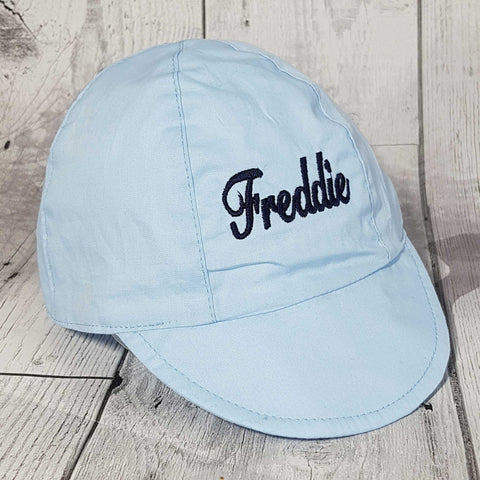 personalised baby baseball cap sun hat