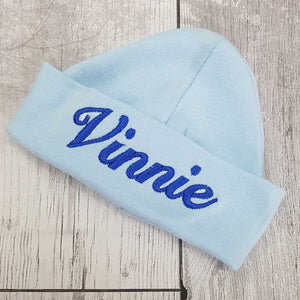 personalised baby hat- hospital hat