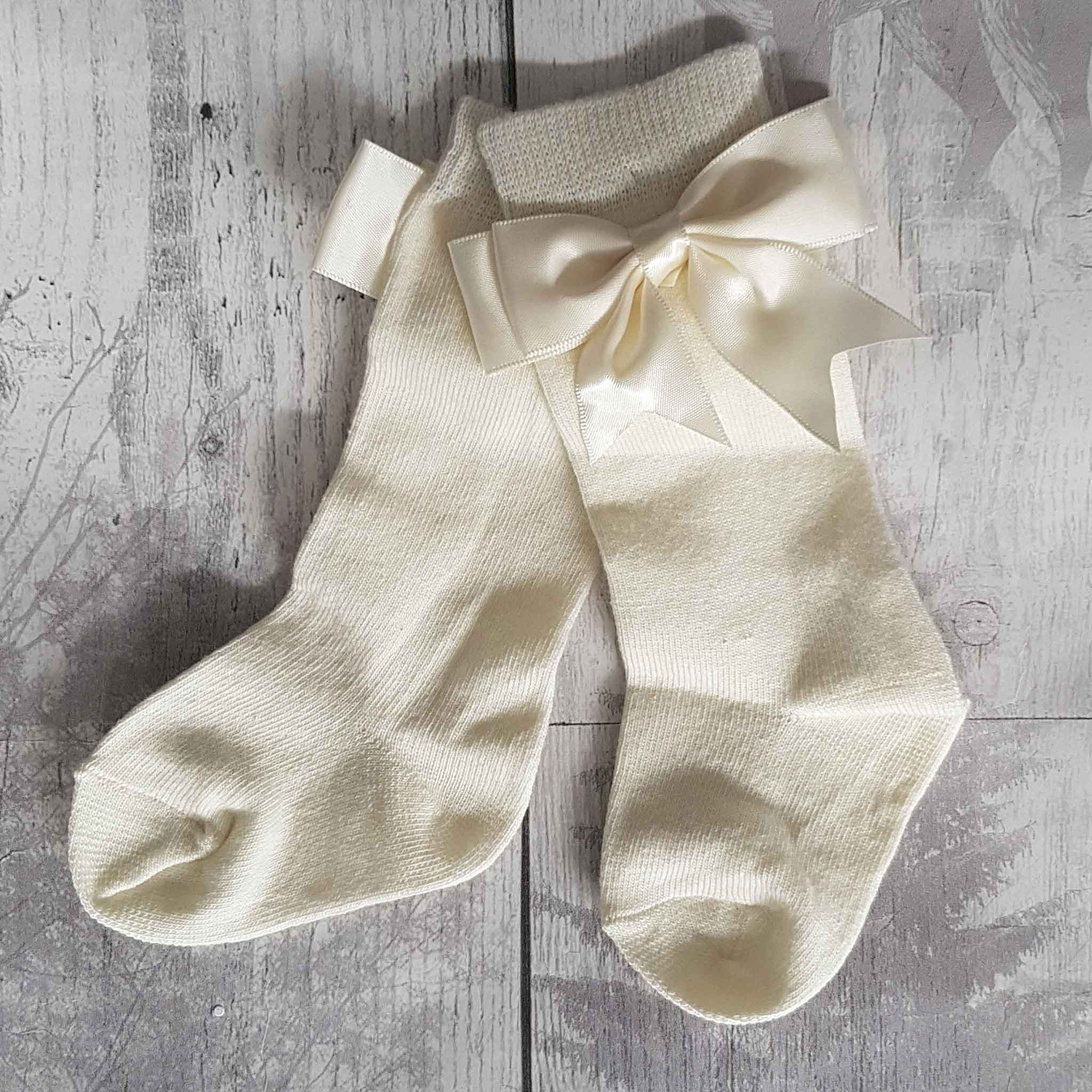 ivory baby girl socks