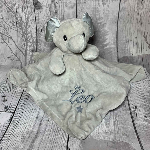 personalised elephant comforter