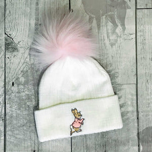 peter rabbit baby hat flopsy