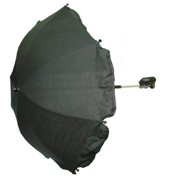Universal Baby Pram /  Pushchair Parasol Sun Umbrella - Black