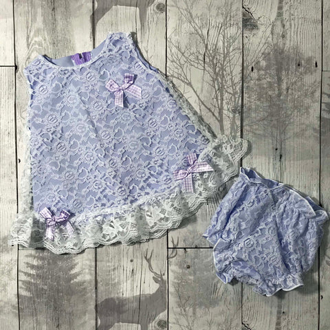 baby girl lilac dress