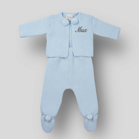 personalised new baby outfit