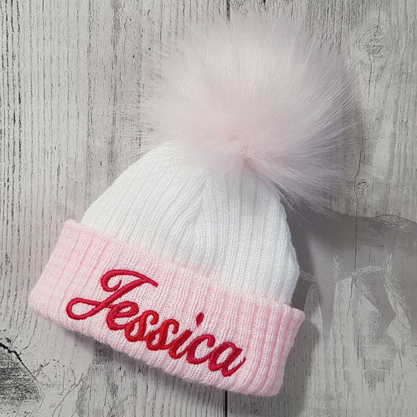 personalised newborn hat