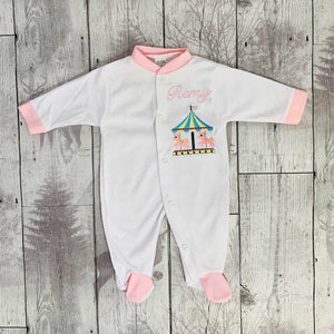 personalised sleepsuit
