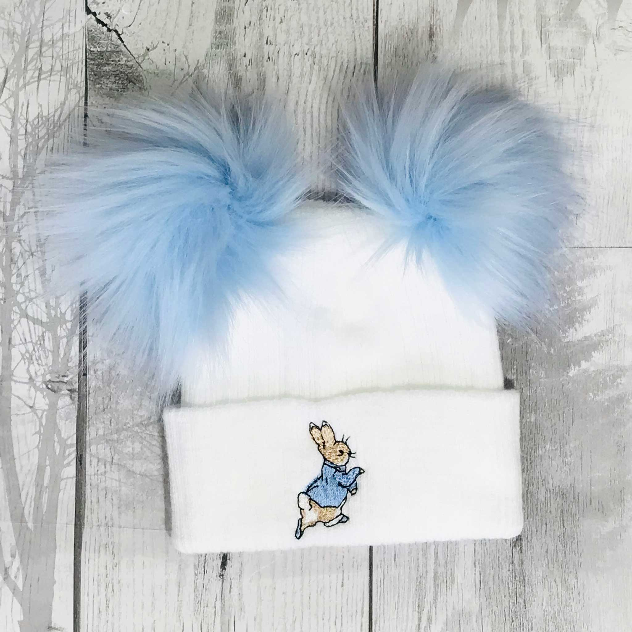 Peter Rabbit Two Pom Hat