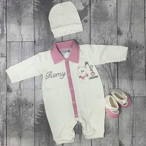 Personalised Baby Girls Outfit