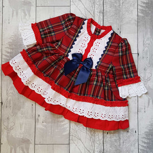 tartan dress baby girl