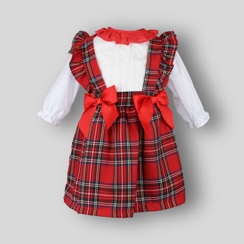 Tartan Two Piece Baby Girl Outfit
