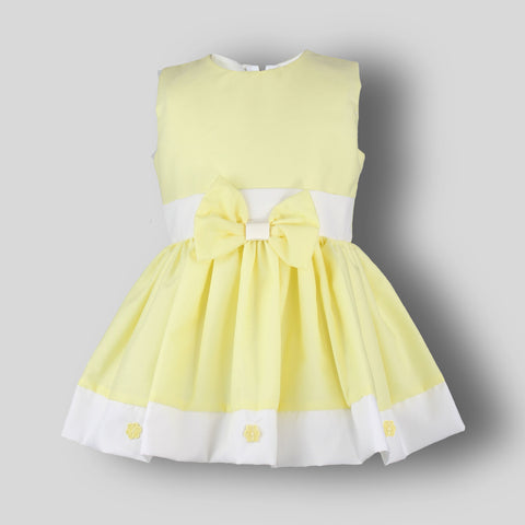baby girl lemon dress frock