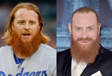 Justin Turner is  Tormund Giantsbane's Clone