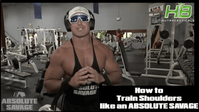 How to Train SHOULDERS like an ABSOLUTE SAVAGE