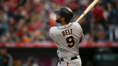 ABSOLUTE SAVAGE STAT OF THE DAY: BRANDON BELT HAD THE LONGEST AT BAT IN MLB HISTORY AT 12 MINUTES 45 SECONDS