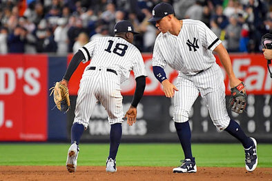 RUMBLE IN THE BRONX: YANKS SNAG GAME 1 AND A SHARE OF THE AL EAST LEAD