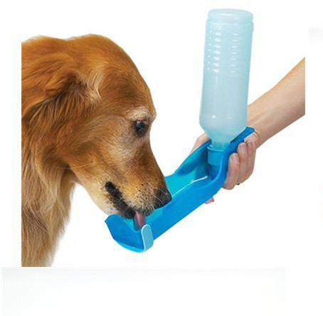1PC Foldable Pet Dog Drinking Water Bottle