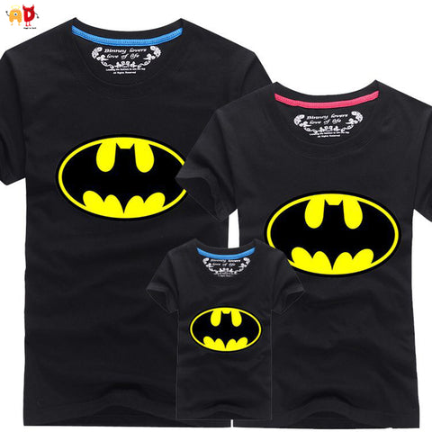 Batman family matching clothes