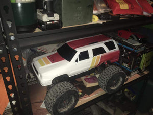 Unbreakable RC 1st gen 4Runner bodies.