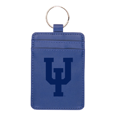 Leatherette Vertical ID Keytag (UIU Engraved)
