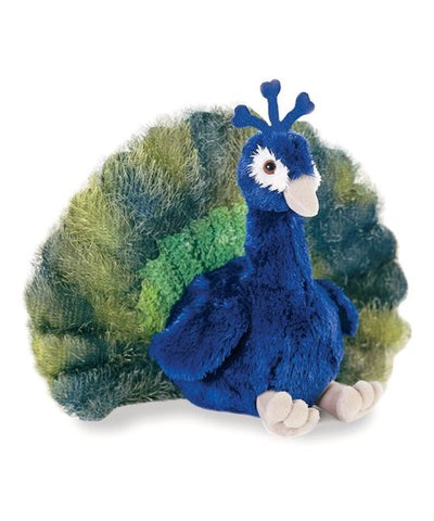 "Aurora Plush Peacock ""Perry"""
