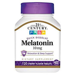 21st Century Melatonin 10MG Sublingual, 120 Tablets