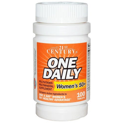 21st Century One Daily 50+ Womens, 100 Tablets
