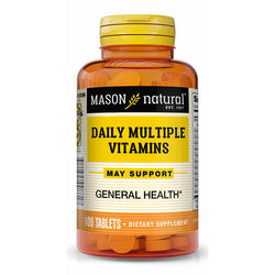 Mason Natural Daily Multiple Vitamin, 100 Tablets