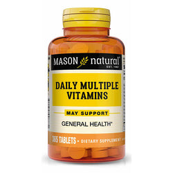 Mason Natural Daily Multiple Vitamin, 365 Tablets