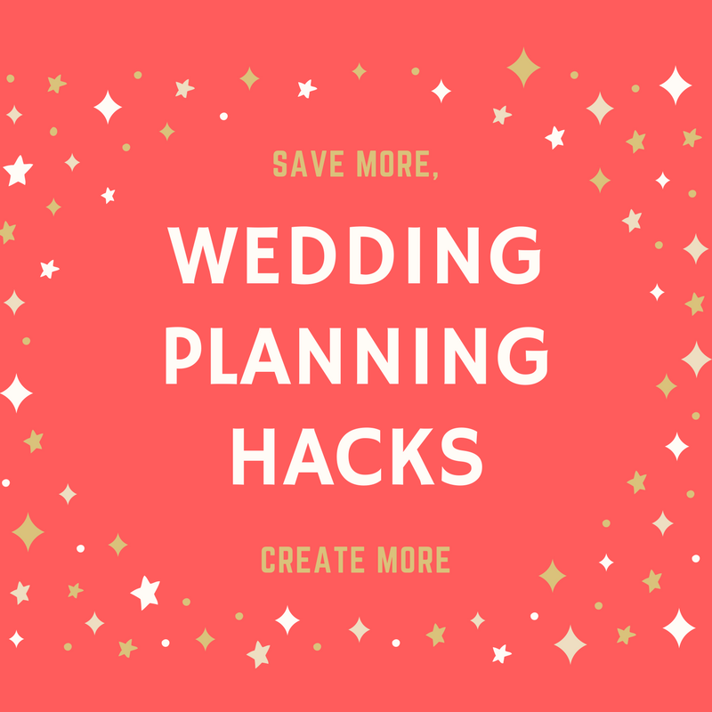 3 Wedding Design Hacks