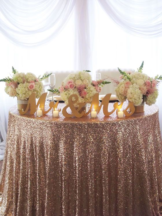 Best Rose Gold Centerpieces for Weddings