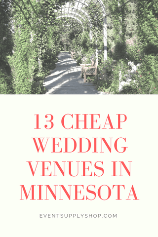 13 Cheap and Affordable Wedding Venues in Minnesota - Event Supply Shop