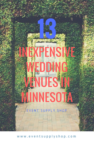 13 Inexpensive Wedding Venues in Minnesota - Event Supply Shop